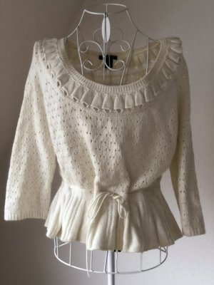 Angora Strick Kurz Top