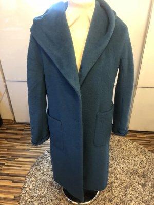 Classic Giacca di lana blu acciaio-blu fiordaliso