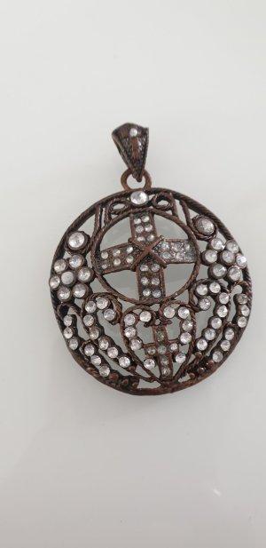 Pendente argento-bronzo