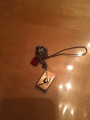 Anhänger Handy Schlüssel Love forever Herz Brief