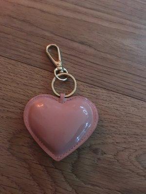 Porte-clés doré-rose