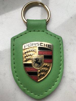 Anhänger Porsche Farbe grün Leder