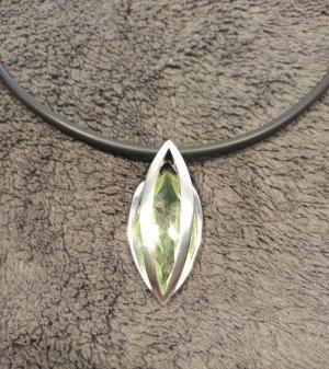 Pierre Lang Hanger zilver-neon groen