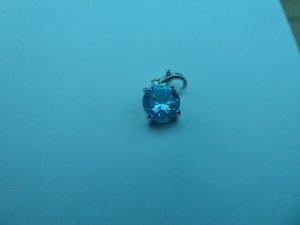 Anhänger Stein blau