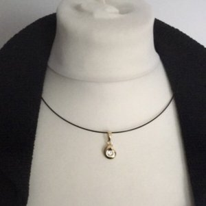 Pierre Lang Collier Necklace black-gold-colored