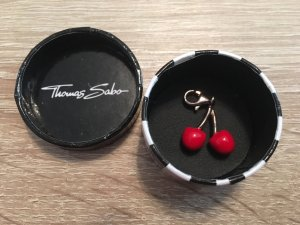 Thomas Sabo Colgante color oro-rojo