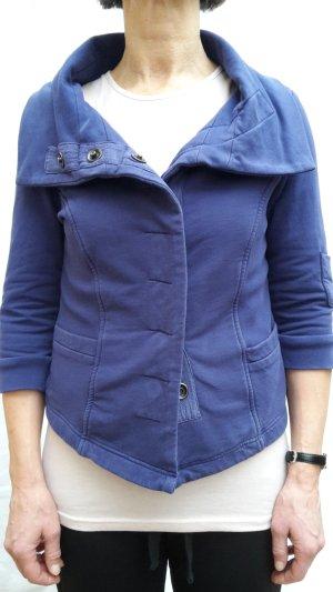Sweat Blazer blue violet mixture fibre