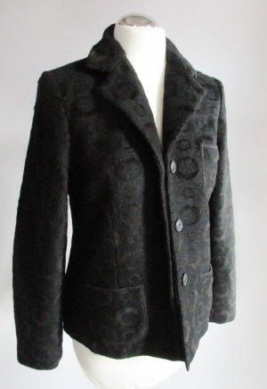 Backstage Wool Blazer black mixture fibre