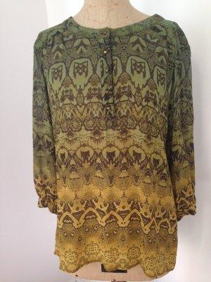 Animal -Print-Bluse aus reiner Seide von Gypsy