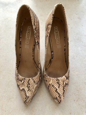 Animal print High Heels von 5th Avenue