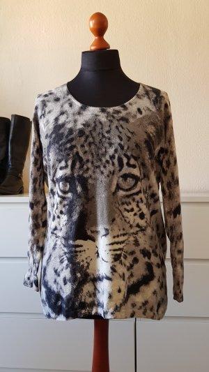 Animal Print Hingucker Pullover