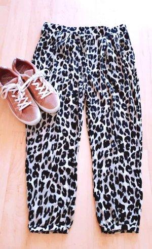 Animal Print Hose gr. 36/38 Leopard Look Harems Hose