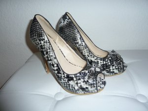 Animal Print Pumps Große 38