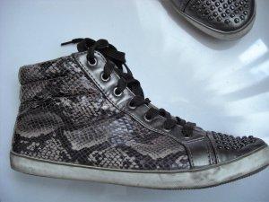 Animal Print Sneaker zum schnüren  Gr 41  used Look