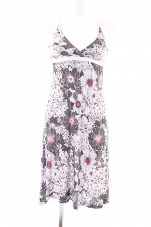 Animal Pinafore dress flower pattern casual look