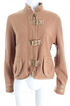 Animale Wolljacke camel Military-Look