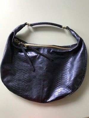 abro Handbag blue leather