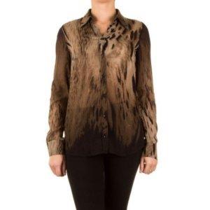 Animalprint Bluse der Luxusmarke APRIORI, Größe 40