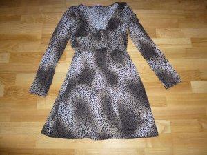 Animalprint-Kleid von Piu & Piu