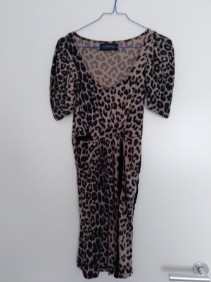 Animalprint Kleid von Zara