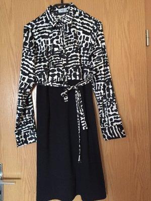 Festa Longsleeve Dress white-black polyester