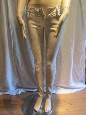 Animalprint Skinny Jeans von H&M