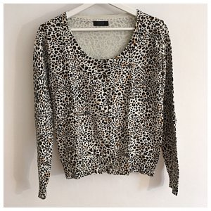 Animalprint Strickjacke von GUESS
