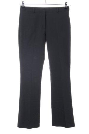 Anine Bing Pantalone a pieghe nero stile professionale