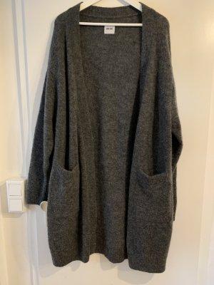 Anine Bing Cardigan in maglia antracite