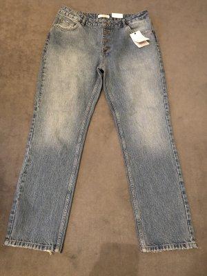 Anine Bing Slim jeans korenblauw