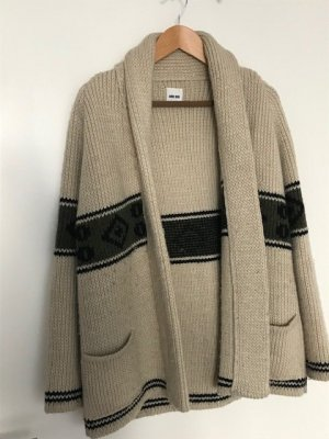 Anine Bing Coarse Knitted Jacket multicolored