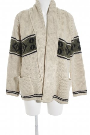 Anine Bing Coarse Knitted Jacket cable stitch casual look