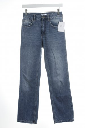 Anine Bing Low Rise Jeans cornflower blue casual look