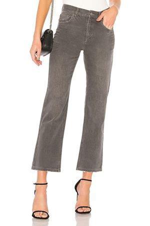 Anine Bing 7/8-jeans grijs Katoen