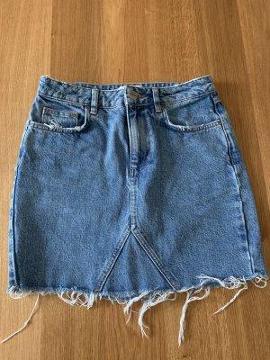 Anine Bing Gonna di jeans multicolore