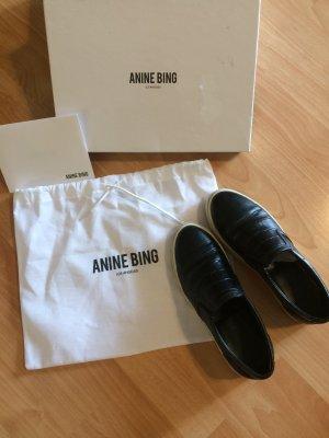 Anine Bing Luna Slip-on Sneakers Größe 37 Echtleder wie Neu