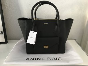 Anine Bing Madison Bag Leder schwarz NEU