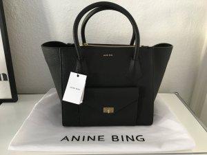 Anine Bing Madison Bag Leder schwarz NEU