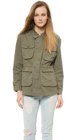 Anine Bing Oversized Army Jacket Jacke Parka Grün Khaki Gr. 36 / S - NEU und mit Etikett!