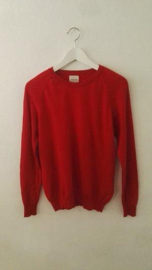Anine Bing Maglione di lana rosso mattone Cotone