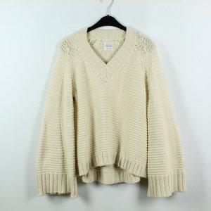 Anine Bing Maglione lavorato a maglia giallo chiaro Cotone