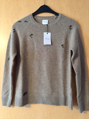 Anine Bing Pullover Pulli Distressed Knit