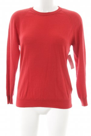 Anine Bing Crewneck Sweater red casual look