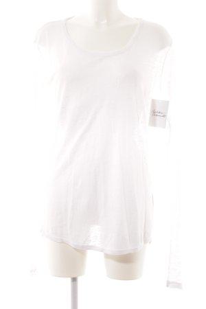 Anine Bing Crewneck Sweater white casual look