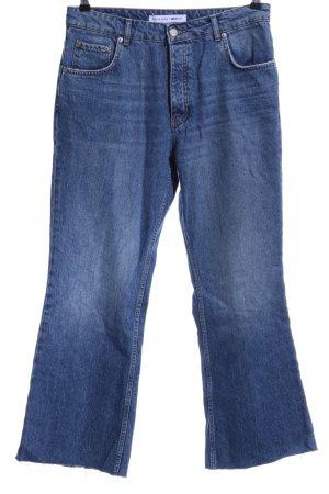 Anine Bing Jeans a gamba dritta multicolore stile casual