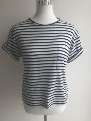 Anine Bing Stripe Shirt white-blue