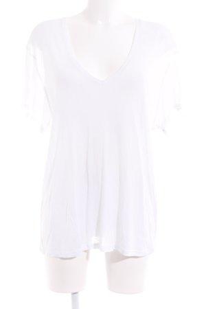 Anine Bing Camiseta blanco puro estilo «business»
