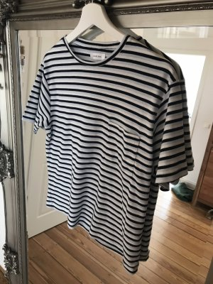 Anine Bing Gestreept shirt azuur-wit