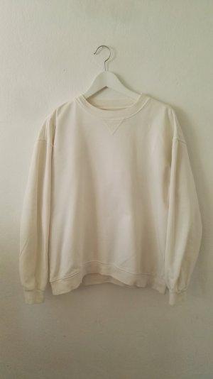 Anine Bing Pull beige clair coton