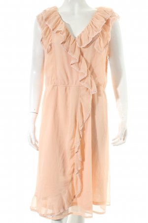 Aniston Chiffonkleid apricot Casual-Look